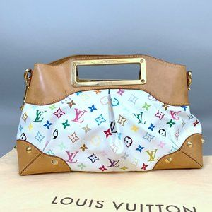 Louis Vuitton Judy Multicolore Shoulder Bag